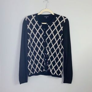 Brooks Brothers | Cardigan Diamond Long Sleeves